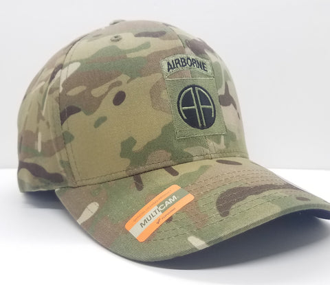 Hat - 82nd Airborne Multicam Flexfit Subdued