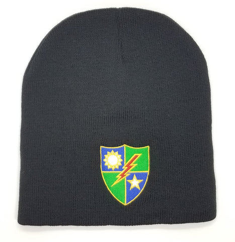 Beanie - 75th DUI Shield Color
