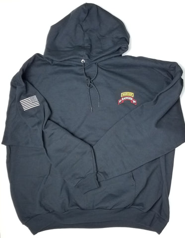 Hoodie - 3d Bn Tab Scroll Embroidered