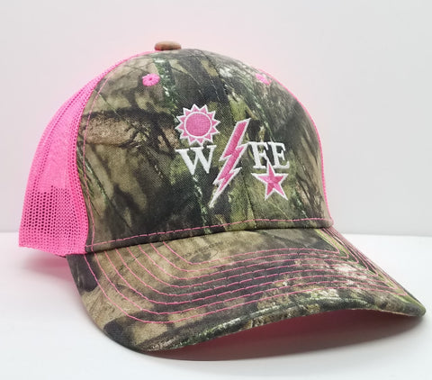 Ladies - Mossy Oak Ranger Wife DUI Trucker