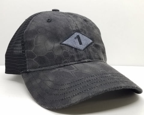 Hat - Covert Bn Diamond Kryptek Typhon