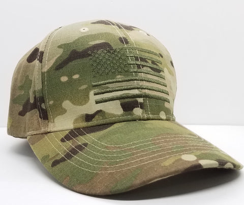 Hat - Rothco Multicam Flag