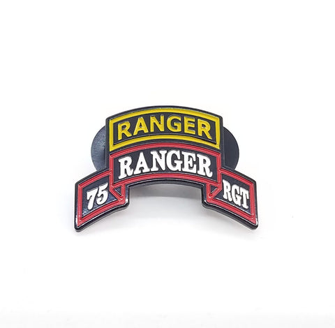 75th Ranger Regt Lapel pin