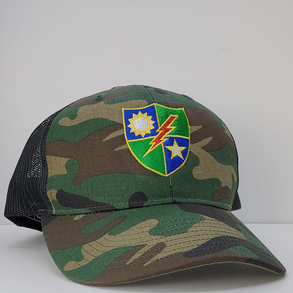 Hat - 75th DUI Shield color