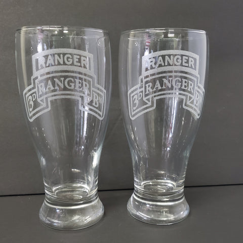 19oz Glass - 3d Ranger Bn