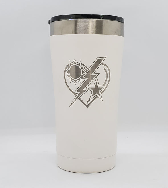 Insulated Tumbler -  75th DUI Heart