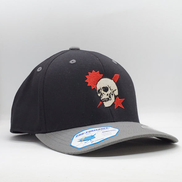 Hat - Scroll Skull DUI
