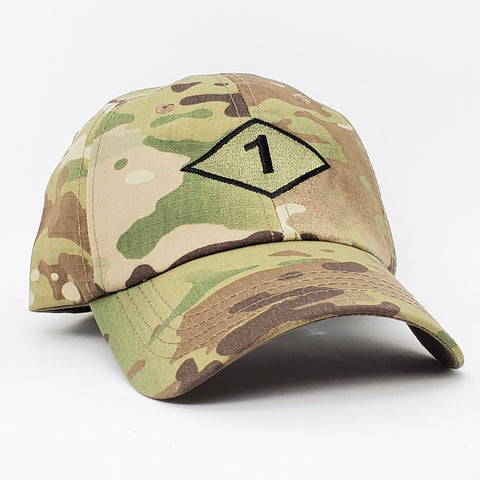 1st Bn Diamond Multicam Cap