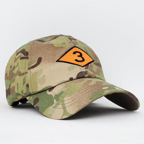 3d Bn Diamond Multicam Cap