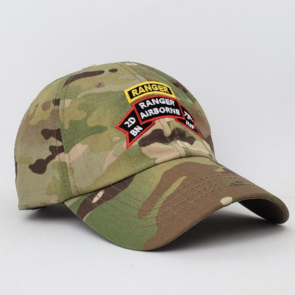 Hat - 2d Bn Old Scroll Multicam