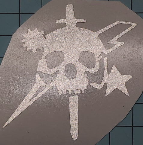 Sticker - Skull Dagger