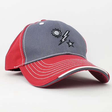 Hat - DUI Ball Cap - Red /Charcoal