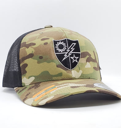 Multicam 75th DUI Black and Silver