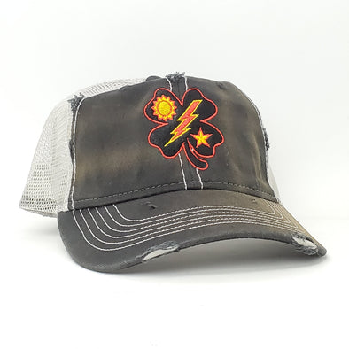 Hat - Black Clover 75th DUI Weathered Trucker