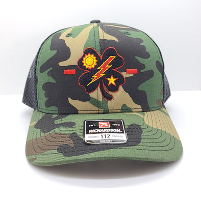 Black Clover 1st Bn Tick Woodland Trucker