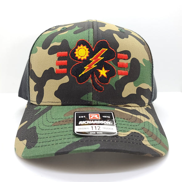 Black Clover 3d Bn Tick Woodland Trucker
