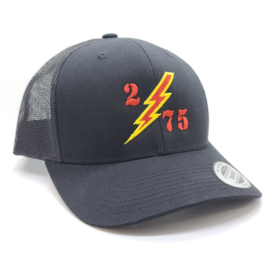2d Bn Bolt Black Trucker