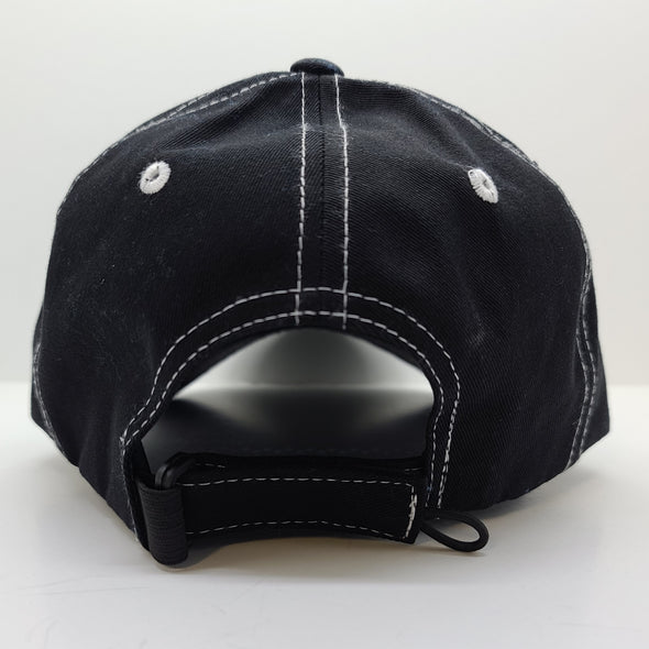 Hat - DUI Ball Cap - Black /Charcoal
