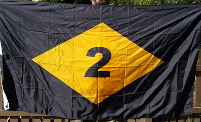 Flag - 2 Diamond - 203 Back - Order