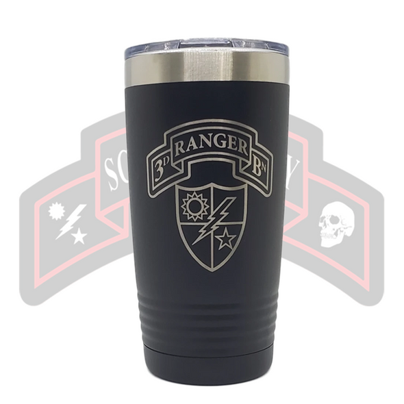 3d Ranger Bn Scroll Tumbler