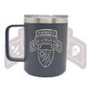3d Ranger Bn Tab and Scroll Tumbler