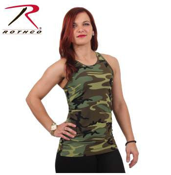 Ladies - Camo Workout Performance Tank Top