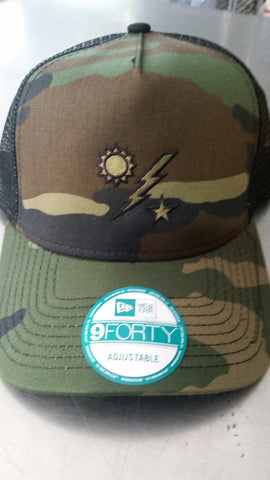 Hat - New Era Trucker Camo