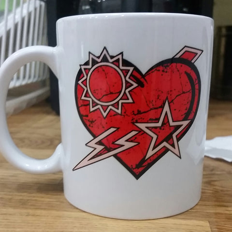 Coffee Cup - DUI Heart - 11 oz