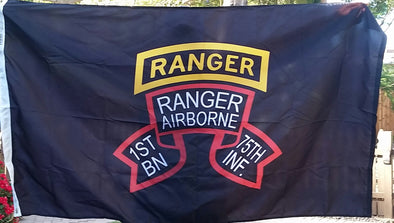 Flag - 1st Ranger Bn Old Scroll