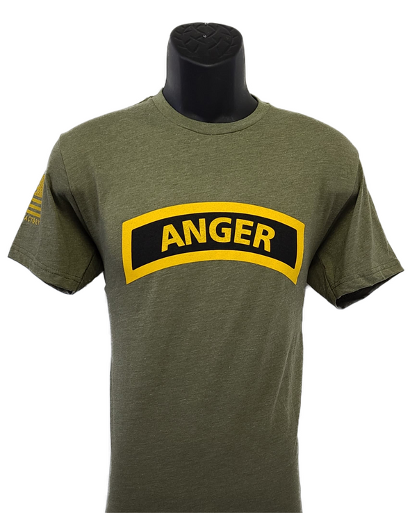 ANGER Tab shirt