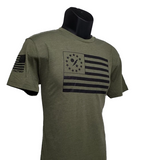 Betsy 75th DUI Outline flag shirt