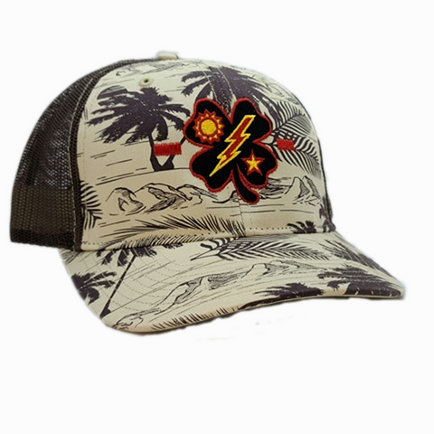 Black Clover 1st Bn Tick Palm Trucker
