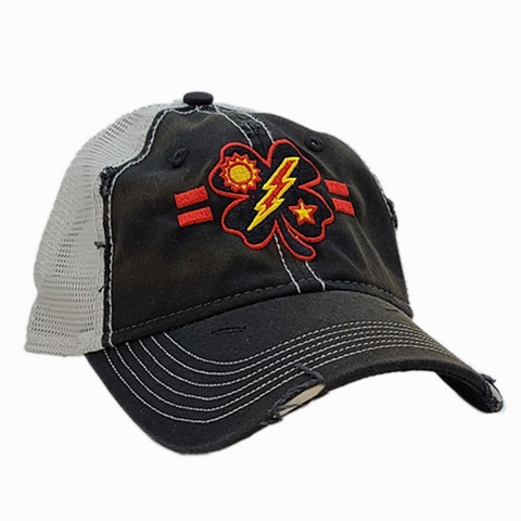 Black Clover 2d Bn Tick Black Weathered Trucker