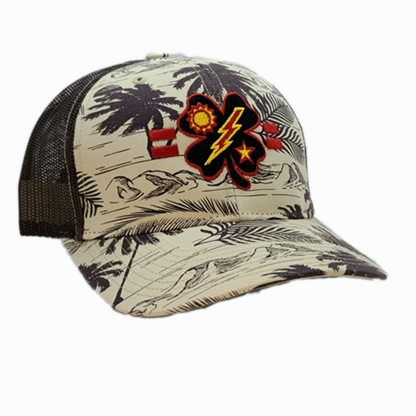 Black Clover 2d Bn Tick Palm Trucker