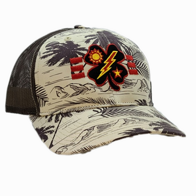Black Clover 3d Bn Tick Palm Trucker