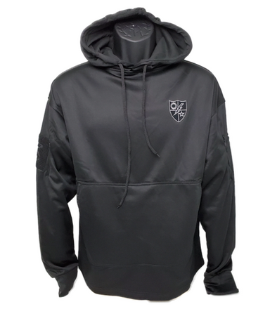 Black 75th DUI Shield Conceal Carry Hoodie