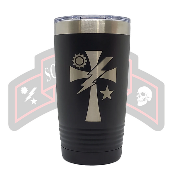 Tumbler  -  Crusader Cross