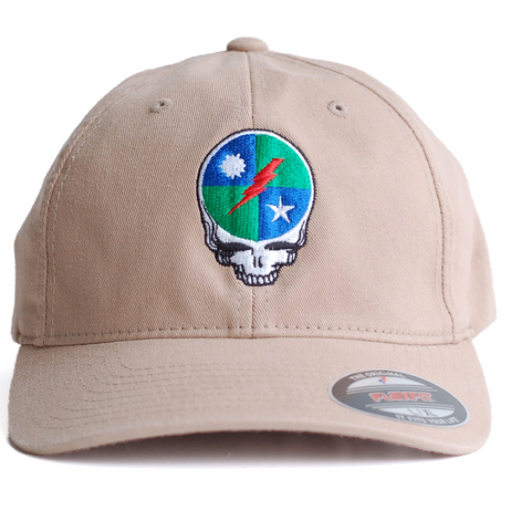 Hat - Flexfit 75th Dead Head