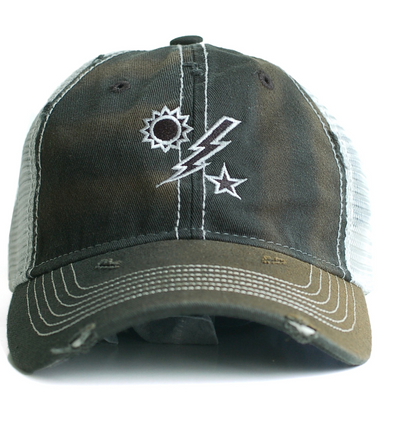 Hat - DUI Trucker Black Weathered