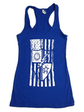 Tank Top - Ladies DUI Flag