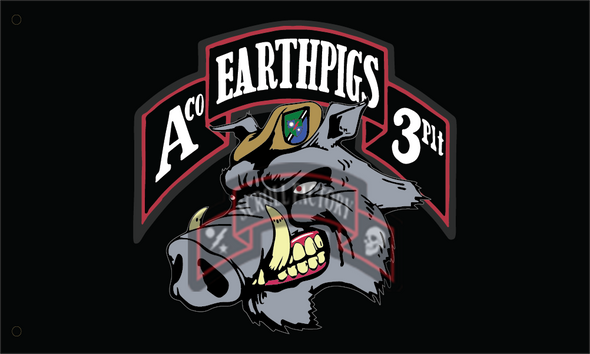 Flag - Earth Pigs - 6727
