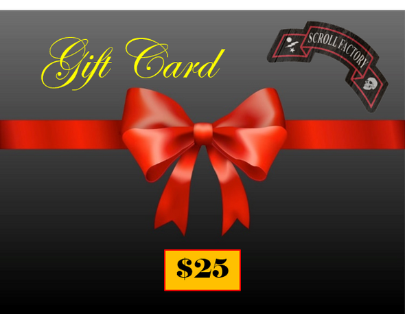 Scroll Factory Gift Card