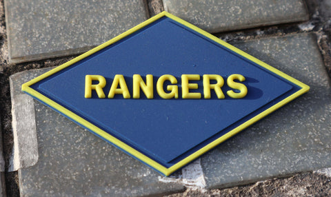 Rangers WWII PVC Patch