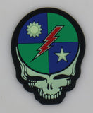 Velcro Patch - 75th Dead Head