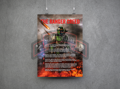 Mando This is the Way - Ranger Creed - Pre-Order