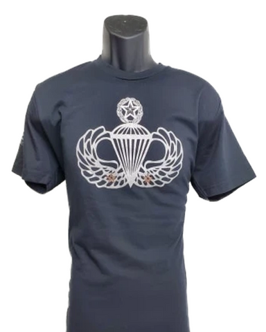 Two Combat Jump Wing Shirt