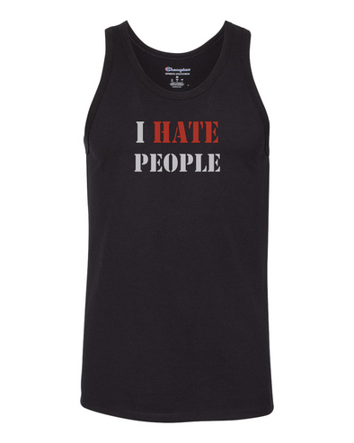 Tank top Men's - I HATE PEOPLE