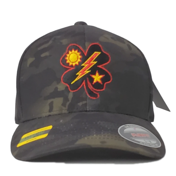 Hat - Black Clover 75th DUI Flexfit Multicam