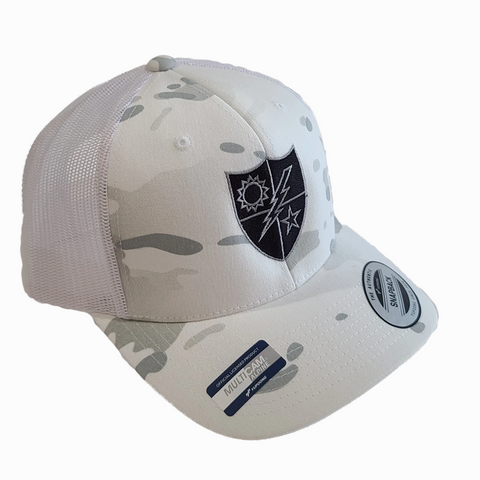 Multicam White 75th DUI Black and Silver