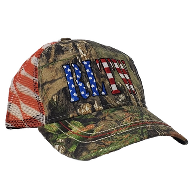 RLTW Flag Mossy Oak USA Trucker